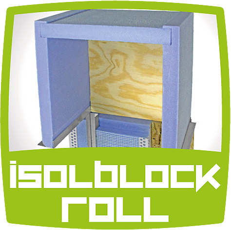 IsolBlock Roll GreenProject